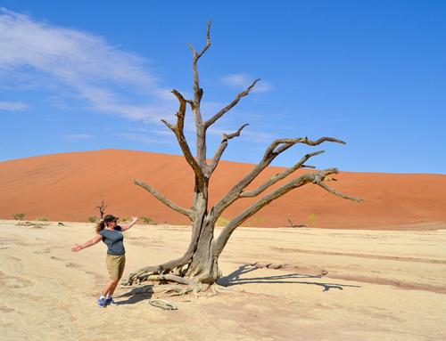 Bli kjent med Namibia